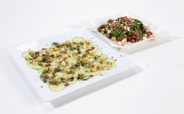 'Cozinheiros em Ao' - Ep. 12 - salada de cevada e carpaccio de abobrinha (Foto: Adalberto de Melo Pygmeu)