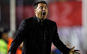 Antonio Mohamed treinador do independiente