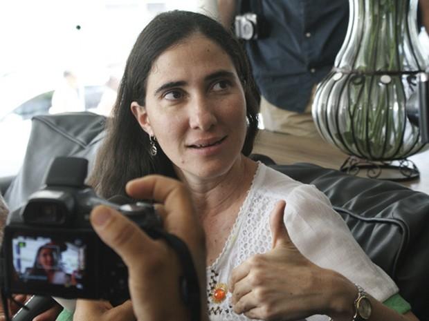 Yoani Sánchez  (Foto: Egi Santana / G1)