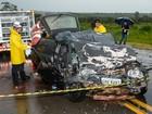 Família morre em acidente na BR-262 próximo a Araxá