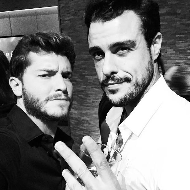Klebber Toledo e Joaquim Lopes (Foto: Reprodução/Instagram)