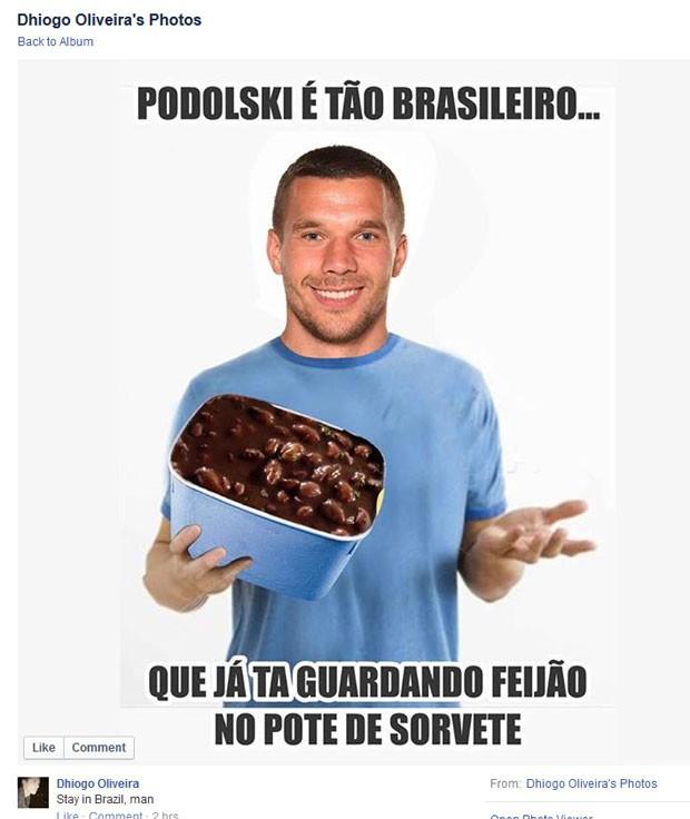 #Poldolskibrasileiro (Foto: Reprodução/Facebook)