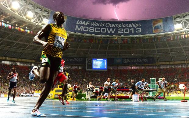 Bolt Mundial Moscou (Foto: Agência AFP)