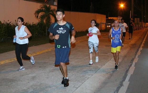 corrida de rua (Foto: Frank Cunha globoesporte.com)