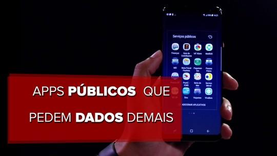 Do FGTS ao Bolsa Família: apps de serviços públicos do Brasil olham mais os seus dados do que deveriam