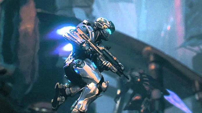 Locke se apresenta em trailer de ação frenético para Halo 5: Guardians (Foto: Reprodução/YouTube)