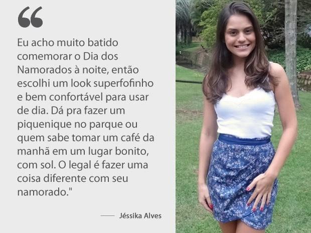 Jéssika Alves (Foto: Amor Eterno Amor / TV Globo)