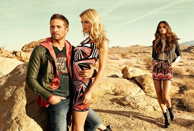 O deserto de Mojave foi o local escolhido para as fotos da nova campanha da marca (Foto: Sebastian Kim)