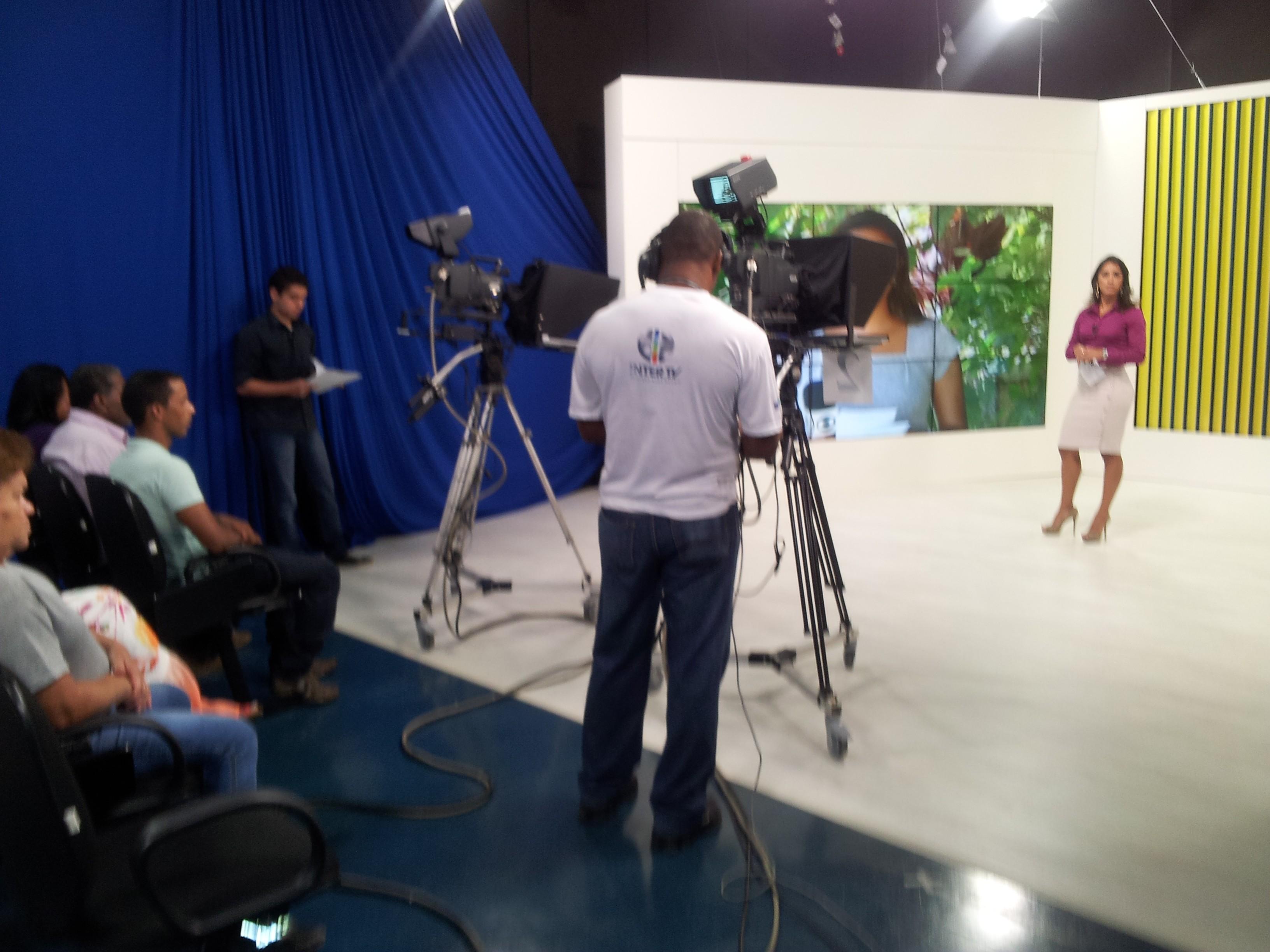 Estúdio Inter TV Cabo Frio 5 (Foto: Laís Vargas)