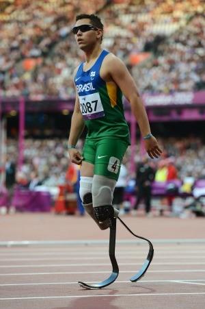Alan Fonteles 100m eliminatórias paralimpíadas (Foto: Getty Images)