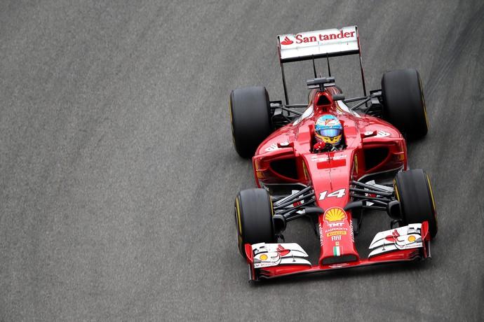 Fernando Alonso não poupou elogios ao piloto da RBR, Daniel Ricciardo (Foto: Getty Images)