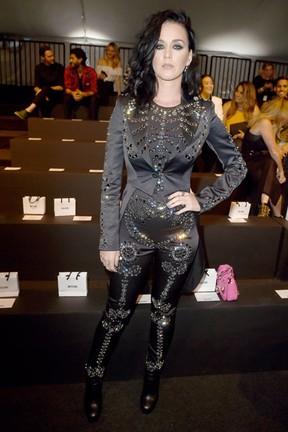 Katy Perry em desfile em Los Angeles, nos Estados Unidos (Foto: Kevin Winter/ Getty Images/ AFP)