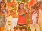 Grávida, Patrícia Abravanel encarna Shakira em programa de TV