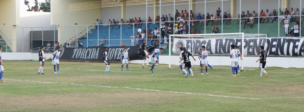 CSP x Botafogo-PB, pela Copa Paraíba (Foto: Lucas Barros)