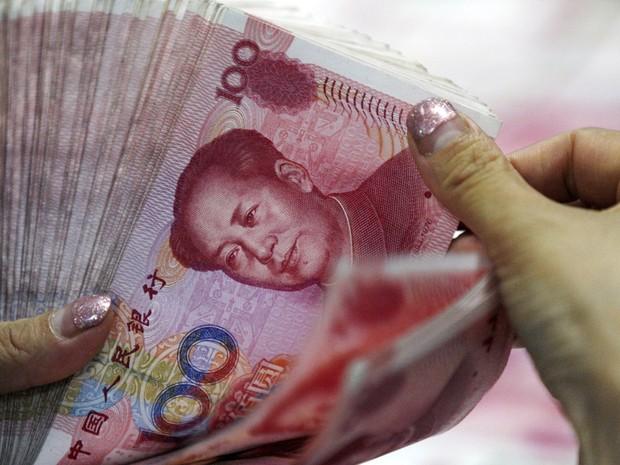 China moeda local iuan (Foto: AP)