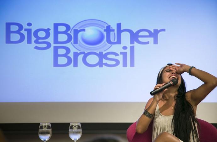 Munik vencedora BBB16 coletiva imprensa (Foto: Camila Camacho/Gshow)