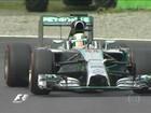 Pilotos da Mercedes saem na frente no primeiro prêmio do GP da Itália