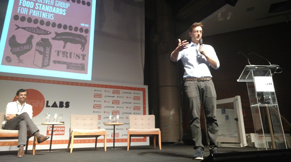 Lisandro Lauretti, do Jamie's Italian, durante o PEGN Labs (Foto: Adriano Lira)