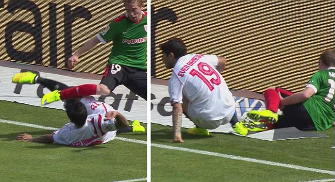 Muniain sofre lesão no joelho em Bilbao x Sevilla