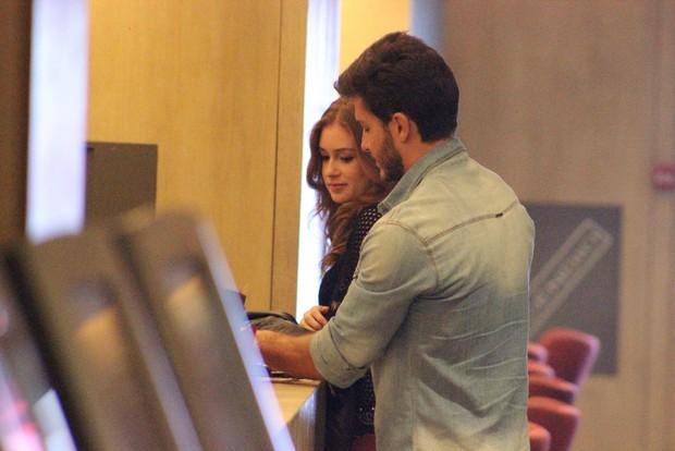 Marina Ruy Barbosa e Klebber Toledo (Foto: Delson Silva/Agnews)