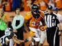 Novatos, protesto e má pontaria de Gano: Broncos vencem os Panthers