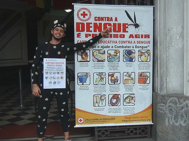 Cruz Vermelha - Campanha contra a dengue (Foto: Divulgação)