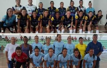 Caçapava e São José farão final da Taça Vanguarda de Futsal Feminino