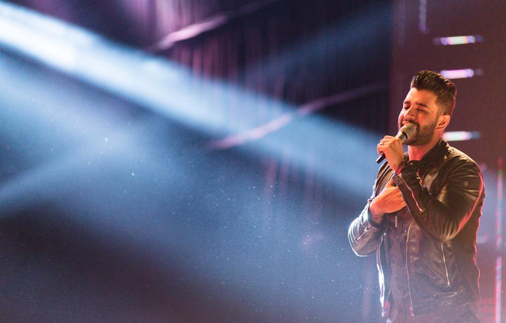 Gusttavo Lima se apresenta no dia 23 de junho (Foto: Érico Andrade/G1)