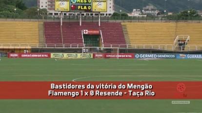 Nova FLA TV - Bastidores da vitória sobre o Resende por 1 a 0