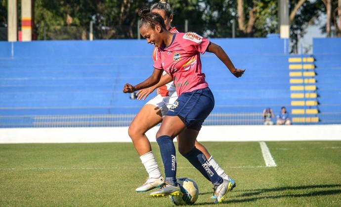 São José futebol feminino x JV Lideral (Foto: Arthur Marega Filho/São José Futebol Feminino)
