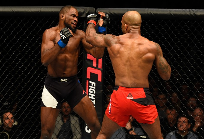 Jimi Manuwa Corey Anderson UFC Londres (Foto: Getty Images)
