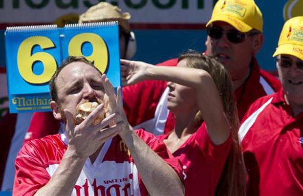 Chestnut acumula nove vitórias na competição (Foto: AP Photo/Mary Altaffer)