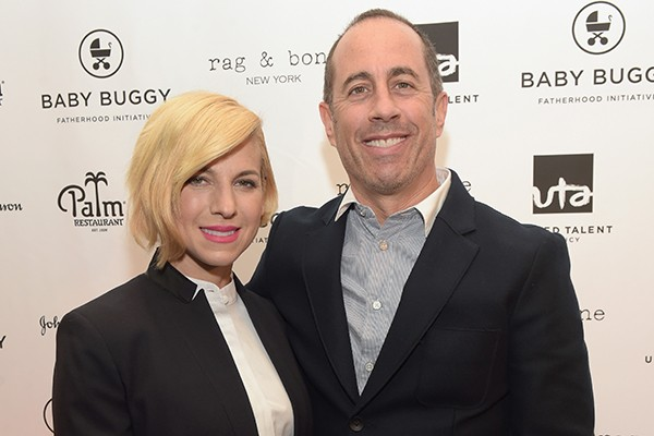 Jerry Seinfeld e Jessica Sklar (Foto: Getty Images)