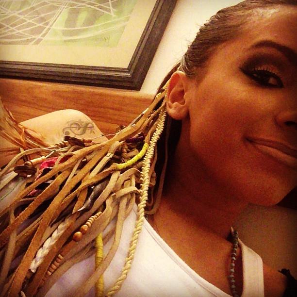 Anitta em Porto Seguro, na Bahia (Foto: Instagram/ Reprodução)