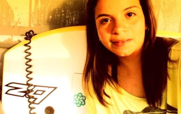 Ingrid Natália criou movimento para atrair novas competidoras (Foto: Bodyboard Sergipe)