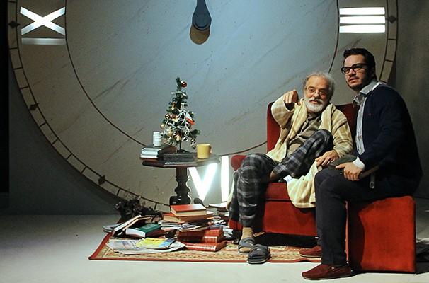 Genézio de Barros e Thiago Mendonça como Rodolfo e Paulo, respectivamente (Foto: Divulgação)
