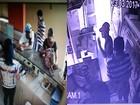 Suspeitos de assaltar açougue na BA são filmados durante roubo a hotel