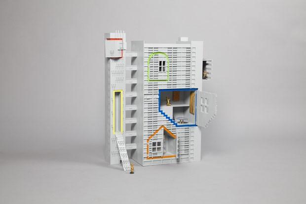 Tower of Fable, por FAT Architecture em colaboração com o artista Grayson Perry (Foto: Thomas Butler)
