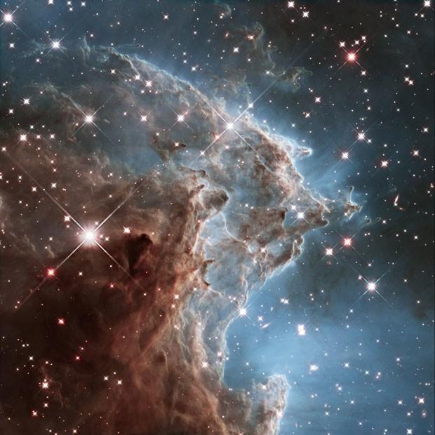 A Nebulosa Cabeça de Macaco, captada pelo telescópio Hubble (Foto: AFP/NASA/ESA/the Hubble Heritage Team)