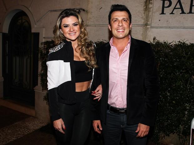 Mirella Santos e Ceará festa em São Paulo (Foto: Manuela Scarpa/ Foto Rio News)