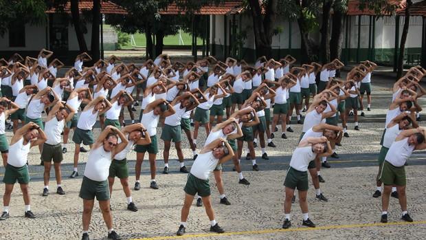 Integrandes do 25 BC se preparam para o 5º GP Teresina Corrida de Rua (Foto: Divulgação)