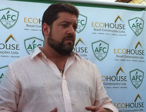 Anthony Armstrong, presidente do Alecrim (Foto: Tiago Menezes)