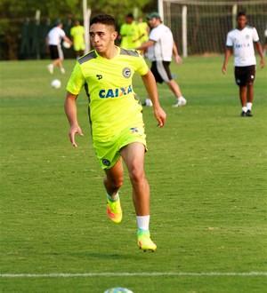 Léo Sena, meia do Goiás (Foto: Rosiron Rodrigues/Goiás E.C.)