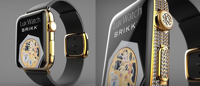 Versões Standard e Deluxe do Apple Watch projetadas pela Brikk (Foto: Divulgação/Brikk)