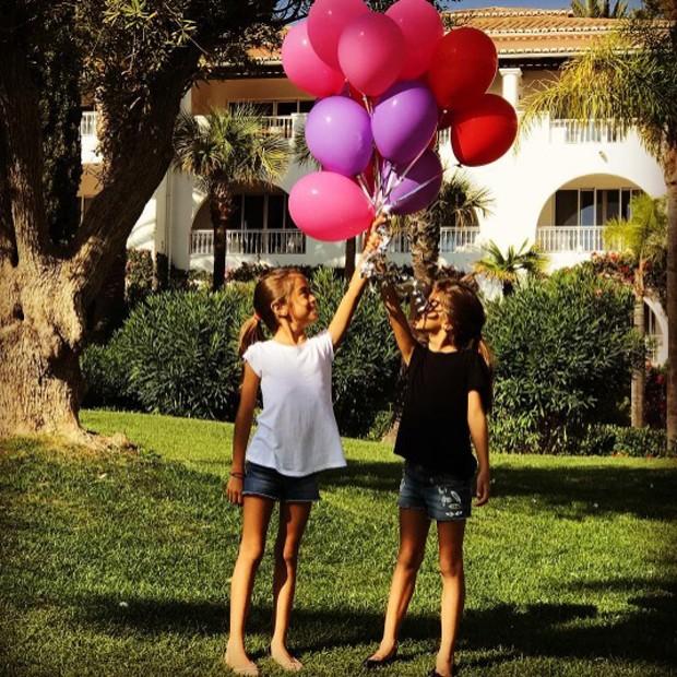 Sofia e Antonia (Foto: Reprodução/Instagram)