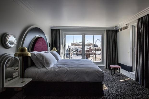 Um hotel charmoso e colorido no Covent Garden, em Londres (Foto: Karel Balas)