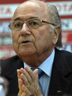 O presidente da Fifa, Joseph Blatter (Foto: Matthias Schrader/AP)