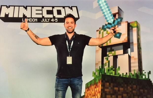 Rob McElhenney será o diretor do filme a respeito do game 'Minecraft'. (Foto: Divulgação/Mojang)