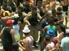 Bola Preta tem brigas e detenções (Reprodução/GloboNews)