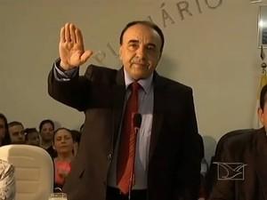 Sebastião Madeira é o primeiro prefeito de Imperatriz a conquistar a reeleição (Foto: Reprodução/TV Mirante)